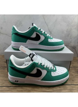 Air Force 1'07 White Green Black 315122-105 for male/female