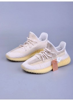 "Adidas Originals Yeezy Boost 350 V2 ""Natural"" FZ5246 for male/female"