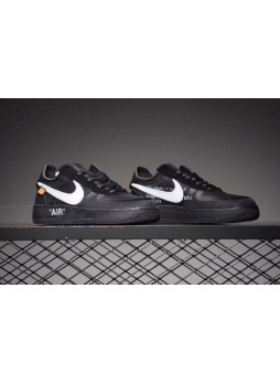 Nike Air Force 1 Low Off-White Black White 2.0 THE TEN AO4606-001 for male/female