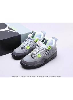 Air Jordan 4 Retro SE 95 Neon CT5342-007 for male/female
