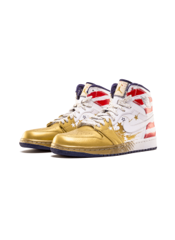 Air Jordan 1 Dave White Wings For The Future Gold-237399-043