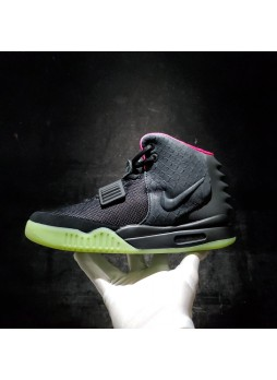 nike air yeezy 2 solar red black 508214-006 for male/female