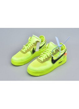 Off-White X Nike Air Force 1 Low Volt-AO4606-700