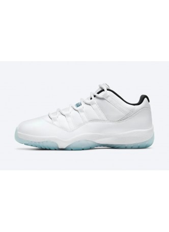 "Air Jordan 11 Retro Low ""Legend Blue"" AV2187-117 for male/female"