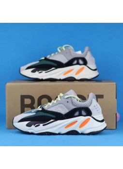 GOAT ADIDAS Yeezy 700 Wave Runner (Tumbled Leather, 3M)-B75571 for Male/Female