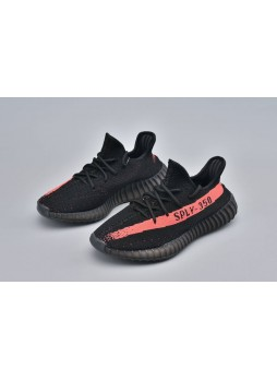 Adidas Yeezy 350 Boost V2 Black Red-BY9612