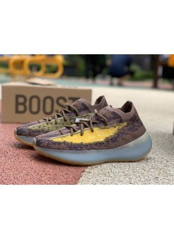 Adidas Yeezy Boost 380 Yellow  Brown FZ4982 for male/female