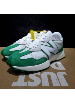 casablanca x New Balance 327 white green MS327CBD for male/female